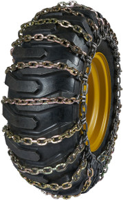 Quality Chain 6524-2 - 11mm Alloy Square Link Loader/Grader Tire Chains (2-Link Spacing)