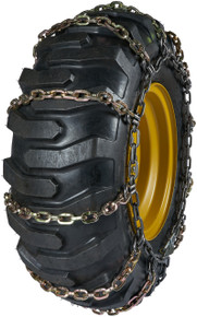 Quality Chain 6524 - 11mm Alloy Square Link Loader/Grader Tire Chains