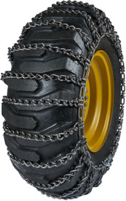 Quality Chain A2612-2 - 10mm Premium Link Loader/Grader Tire Chains (2-Link Spacing)