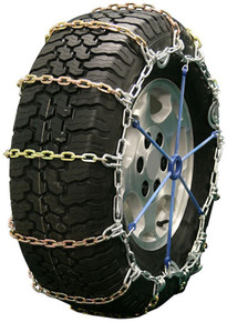 Quality Chain 2111SLC - 5.5mm Alloy Square Link Tire Chains (Cam)