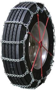 Quality Chain 2853QC - Road Blazer 8mm V-Bar Link Truck Tire Chains (Cam)