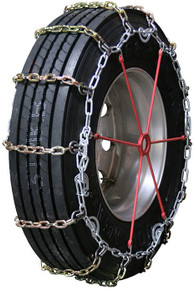 Quality Chain 2155HDQC - Heavy Duty 8mm Alloy Square Link Truck Tire Chains (Cam)