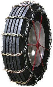 Quality Chain 2137RHD - Heavy Duty 8mm Alloy Square Link Truck Tire Chains (Non-Cam)