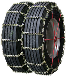 Quality Chain 4257LMC - Road Blazer Dual/Triple 8mm Long Mileage Alloy Link Truck Tire Chains (Cam)