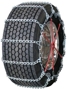 Quality Chain 3257QC - Road Blazer Wide Base 8mm Link Truck Tire Chains (Cam)