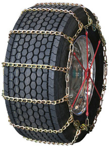 Quality Chain 3277LMC - Road Blazer Wide Base 8mm Long Mileage Alloy Link Truck Tire Chains (Cam)