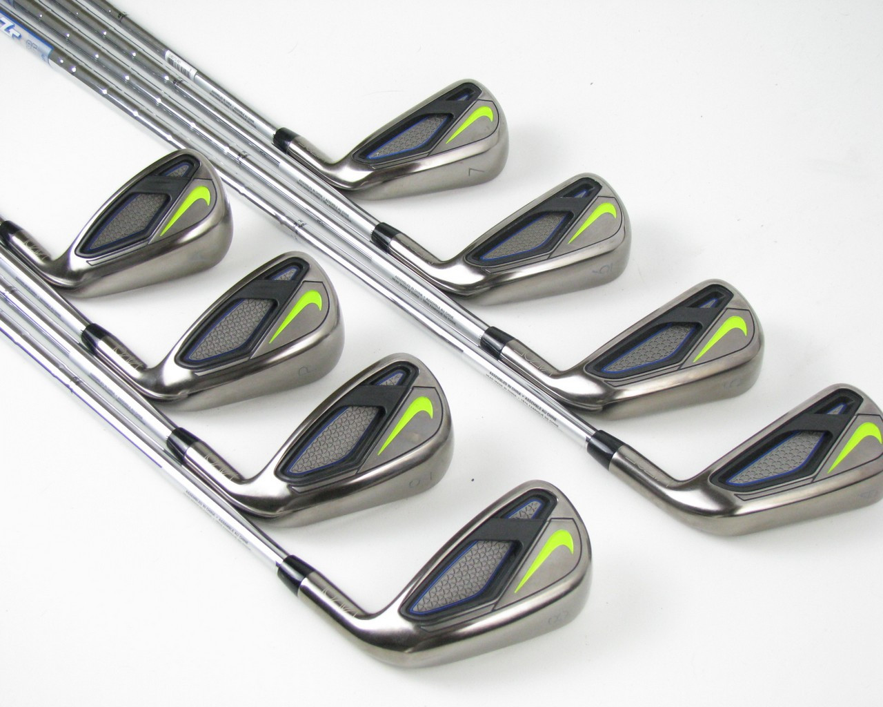b685a829a4a12 MINT Nike Vapor Fly iron set 4-PW+AW w  Steel Zip Tip 85 Stiff ...