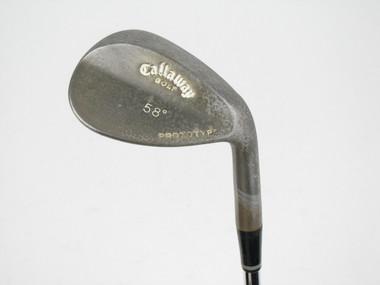 Callaway Prototype RAW Lob Wedge