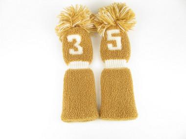 VINTAGE Knit Sock Golf Fairway wood #3, #5, Headcovers