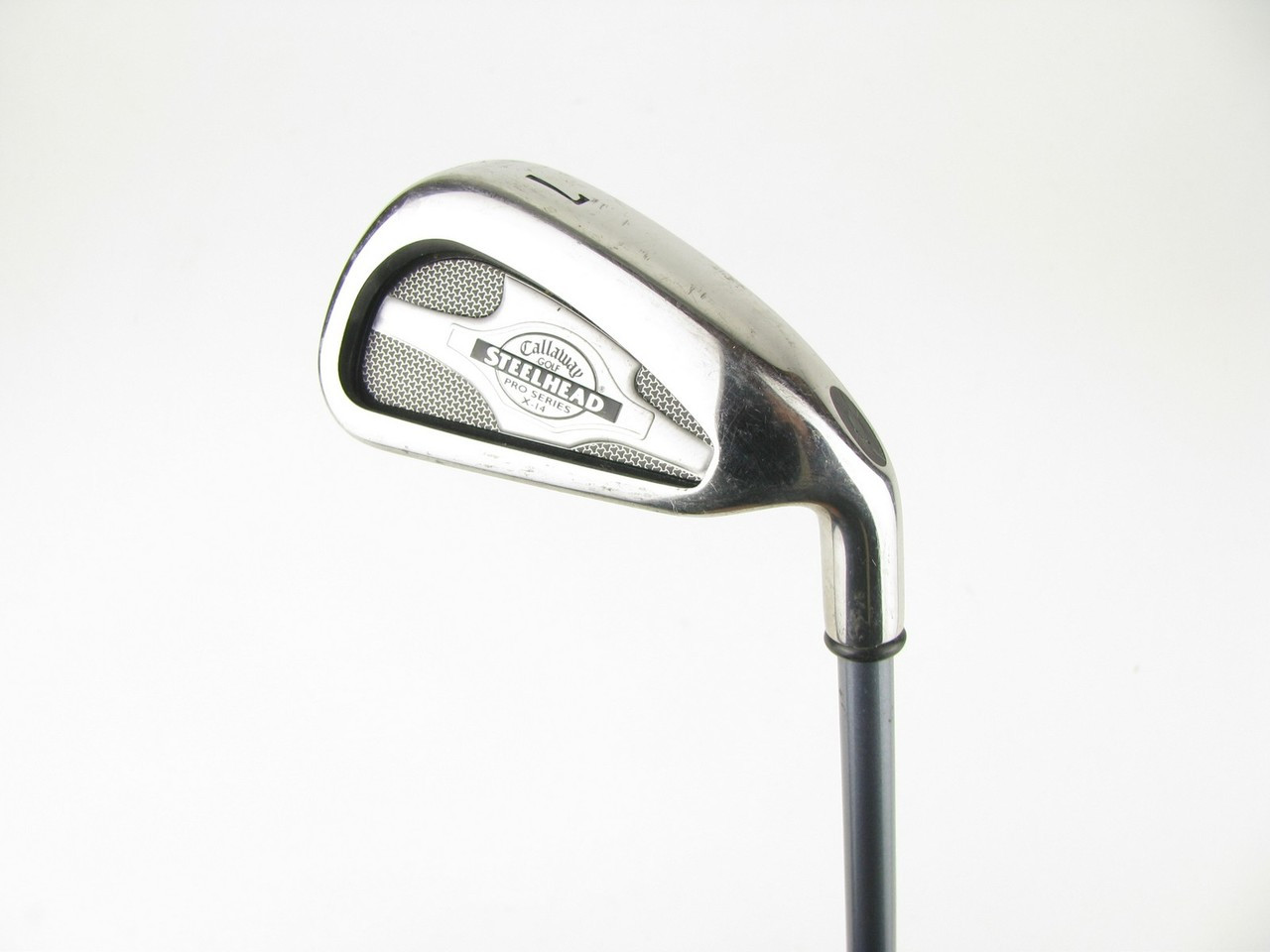 Callaway X 14 Steelhead Pro Series 7 Iron W Graphite Regular X14