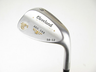 Cleveland 588 Forged Satin Chrome Lob Wedge