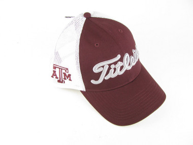 Texas A&M Aggies University College Titleist Golf Mesh Hat