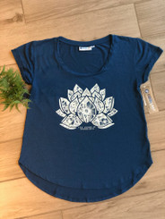 CoolLast Lapis Blue Lotus Tee w. TLAW Logo