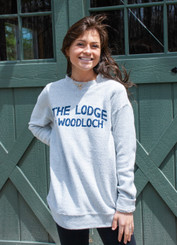 Lyla Loop Pullover Sweatshirt w. TLAW Logo - Gray