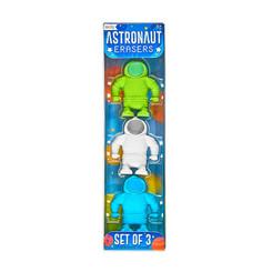 Astronaut Erasers - Set of 3