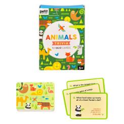 Wild & Wolf - Animal Trivia Cards