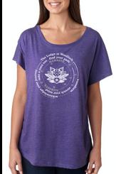 Lodge Immerse Tee - Purple