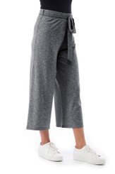 Doris Knit Crop Pant - Graphite