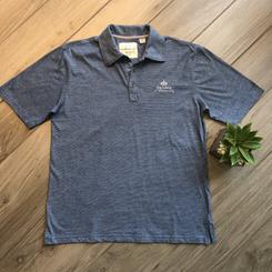 Men's Short Sleeve Polo Shirt Blue