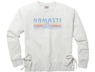 TechStyles Namaste Crew w. Side Tie