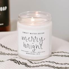 Sweet Water Decor - Merry & Bright Soy Candle