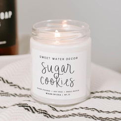 Sweet Water Decor - Sugar Cookies Soy Candle