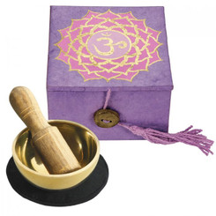 "Mini Meditation Bowl 2"" - Crown Chakra"