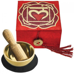 "Mini Meditation Bowl 2"" - Root Chakra"