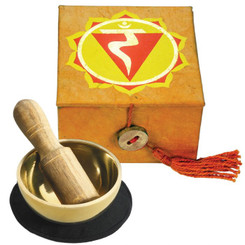 """Mini Meditation Bowl 2"""" - Solar Plexus Chakra"""