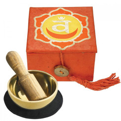 "Mini Meditation Bowl 2"" - Sacral Chakra"