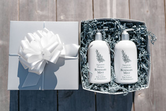 Rosemary Mint Holiday Box - Shampoo & Conditioner