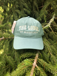 The Game Hat w. Block Letter Logo - Green