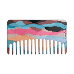 Desert Mirage Go-Comb   Plastic Wallet-Sized Comb