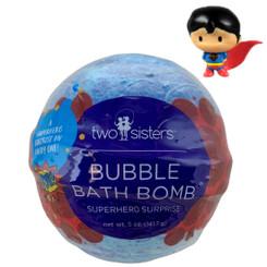Superhero Surprise Bubble Bath Bomb with Kids Toy