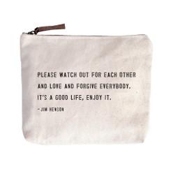 Canvas Zip Bag - Jim Henson