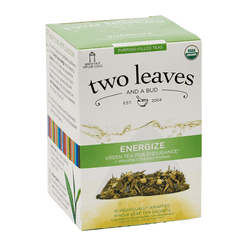 Two Leaves and a Bud - Organic Energize Purpose-Filled Tea