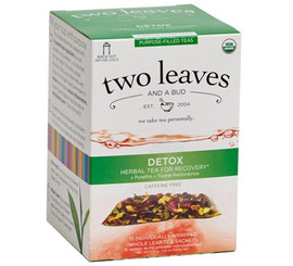 Two Leaves and a Bud - Organic Detox Purpose-Filled Tea