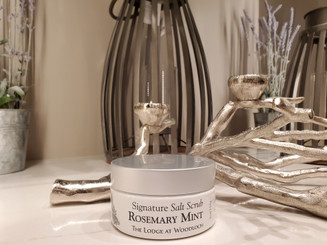 Rosemary Mint  Salt Scrub - 9 oz.