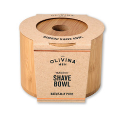 Olivina Men - Bamboo Shave Bowl