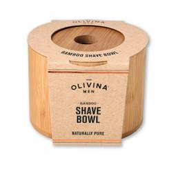 Olivina Men - Bamboo Shave Bowl