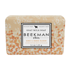 Honey & Orange Blossom Goat Milk Bar Soap 9 oz