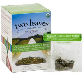 Two Leaves and a Bud - Organic Matcha Mint Green Tea