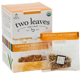 Two Leaves and a Bud - Organic Turmeric Antioxidant Tea
