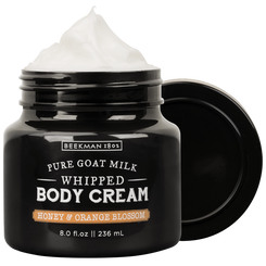 Honey & Orange Blossom Whipped Goat Milk Body Cream