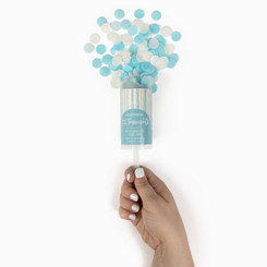 Think Happy Thoughts Bath Confetti Push Pop
