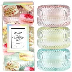 Macaron Candle Gift Set of 3
