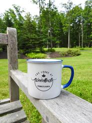 Camp Mug w. TLAW PA Logo - Blue