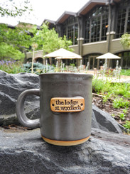 Stoneware Lodge Logo Mug - Gray