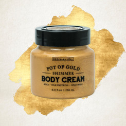 Pot of Gold Whipped Goat Milk Body Cream