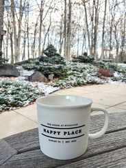Happy Place TLAW Mug 12 oz - White